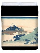 Fuji From Inume Pass Duvet Cover