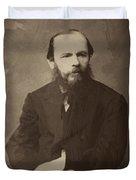 Fyodor Dostoevsky Duvet Cover