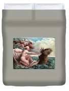 Galatea In Egress Duvet Cover