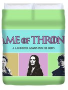 Game Of Thrones. Lannister. Duvet Cover