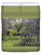 Garden In Spring Duvet Cover