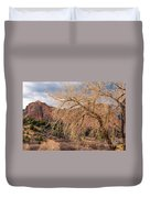 Garden Of The Gods Entrance Duvet Cover