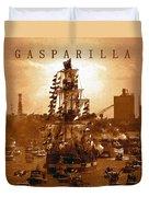 Gasparilla Invasion  Duvet Cover