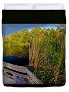 Gator Lake Duvet Cover