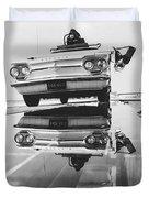General Motors Proving Ground Duvet Cover