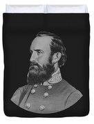 General Stonewall Jackson - Five Duvet Cover