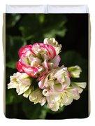 Geranium Flowers Duvet Cover
