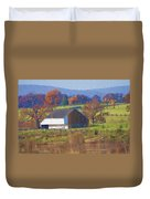 Gettysburg Barn Duvet Cover by Bill Cannon