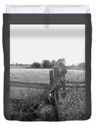 Gettysburg  Landscape Duvet Cover