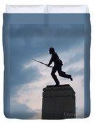 Gettysburg Statue  Duvet Cover