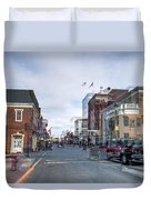 Ghost Of Lexington Duvet Cover