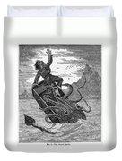 Giant Squid, 1879 Duvet Cover