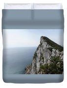 Gibraltar Rock Duvet Cover