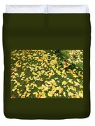 Ginkgo Biloba Leaves Duvet Cover