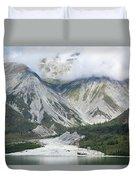 Glacier Bay Landscape Duvet Cover