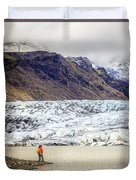 Glacier Lagoon Duvet Cover