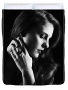 Glamorous Woman Duvet Cover