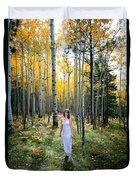 Goddess Walk Duvet Cover