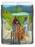 Going To Market 2 Duvet Cover