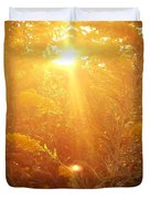 Golden Days Of Autumn Duvet Cover