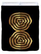 Golden Waves Hightide Natures Abstract Colorful Signature Navinjoshi Fineartartamerica Pixels Duvet Cover