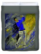 Golfplayer Duvet Cover