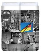 Gorch Fock 1958 Duvet Cover