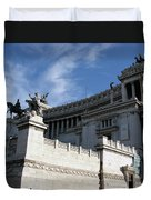 Government Building Rome Duvet Cover