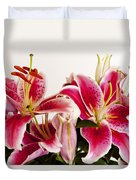 Graceful Lily Series 10 Duvet Cover