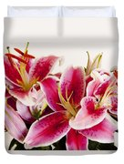 Graceful Lily Series 11 Duvet Cover