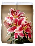 Graceful Lily Series 12 Duvet Cover