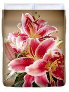 Graceful Lily Series 13 Duvet Cover