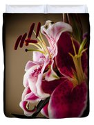 Graceful Lily Series 16 Duvet Cover