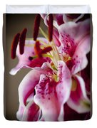 Graceful Lily Series 17 Duvet Cover