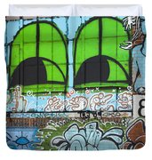 Graffiti #5781 Duvet Cover
