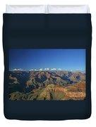 Grand Canyon At Sunset Duvet Cover