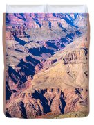 Grand Canyon Sunny Day With Blue Sky Duvet Cover