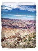 Grand Canyon View From The South Rim, Arizona Duvet Cover