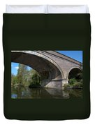 Grand Union Canal Bridge 181 Duvet Cover