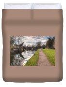 Grand Union Canal Rickmansworth Duvet Cover