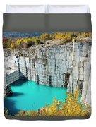 Granite Quarry Duvet Cover