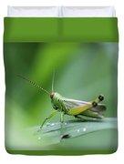 Grasshopper Duvet Cover