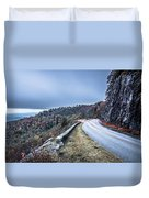 Graveyard Fields Overlook In The Smoky Mountains In North Caroli Duvet Cover