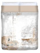 Gray Brown Abstract 12m3 Duvet Cover