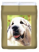 Great Pyrenees Duvet Cover