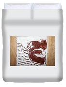Greeting 10 - Tile Duvet Cover