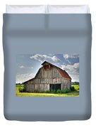 Grey Barn Duvet Cover by Douglas Barnett