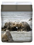 Grey Water At Window Rock Duvet Cover