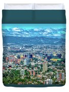 Guatemala City - Guatemala I Duvet Cover