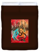 Guitar Duvet Cover